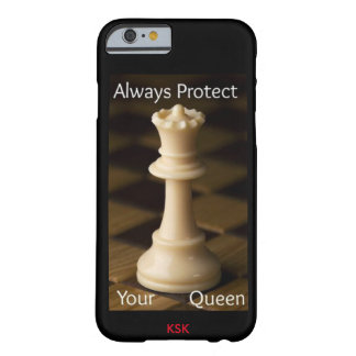 ALWAYS PROTECT YOUR QUEEN BARELY THERE iPhone 6 CASE