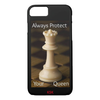 ALWAYS PROTECT YOUR QUEEN iPhone 8/7 CASE