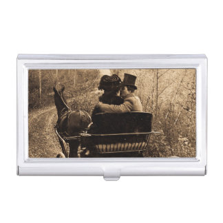 Always Take a Horse You Can Drive with One Hand Business Card Case