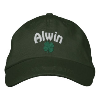 Alwin  - Four Leaf Clover Embroidered Hat