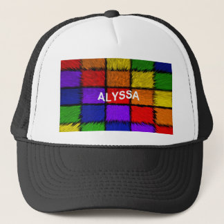 ALYSSA ( female names ) Trucker Hat