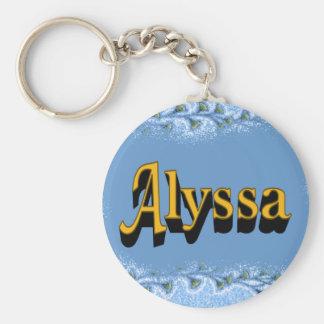 Alyssa Keychain