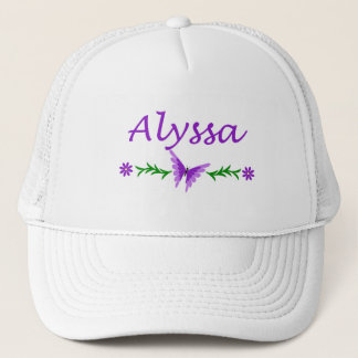 Alyssa (Purple Butterfly) Trucker Hat