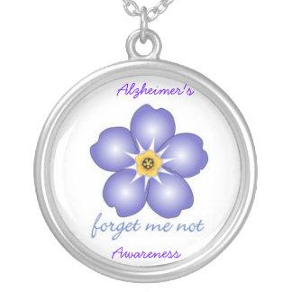 Alzheimer's Awareness Necklace