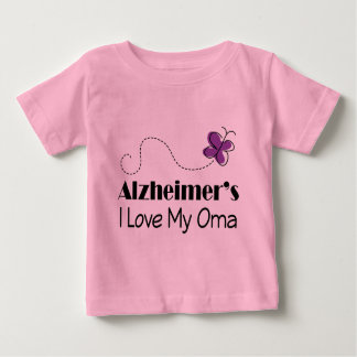Alzheimers I Love My Oma Baby T-Shirt
