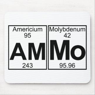 Am-mo (ammo) - Full Mouse Pad