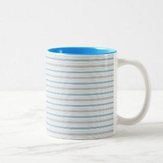 Amara Stripe Cornflower Mug