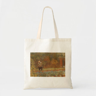 Amateur (Coachman & Cabbages) by Frederick Walker Tote Bag