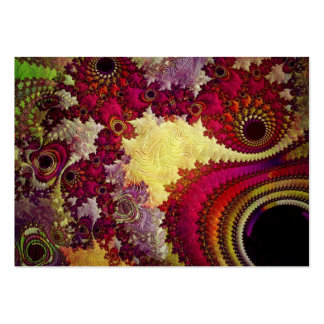 amazing Abstract fractal geometry Large Business Cards (Pack Of 100)