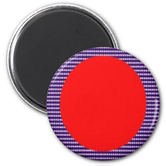 Amazing Acrylic Designer Colors on Sq n Rounds 6 Cm Round Magnet