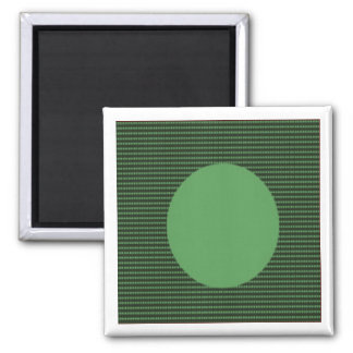 Amazing Acrylic Designer Colors on Sq n Rounds Square Magnet