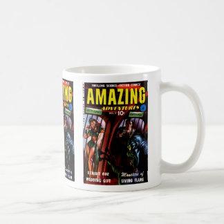 Amazing Adventures #2 Retro Sci Fi Comic Book Basic White Mug