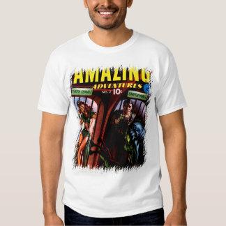 Amazing Adventures #2 Retro Sci Fi Comic Book T Shirt