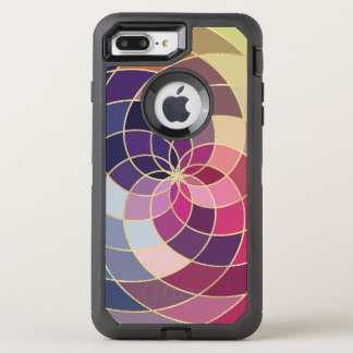 Amazing Colourful Abstract Design OtterBox Defender iPhone 8 Plus/7 Plus Case