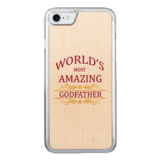 Amazing Godfather Carved iPhone 8/7 Case