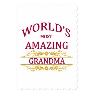 Amazing Grandma Card