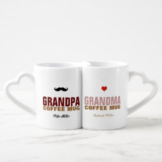 amazing grandma & grandpa coffee mug