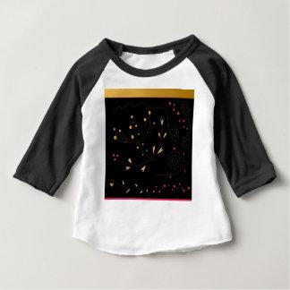 Amazing handdrawn Folk Edition : BLACK GOLD Baby T-Shirt