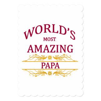 Amazing Papa Card