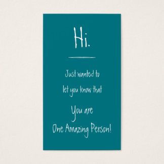 Amazing Person Card Anonymous 2
