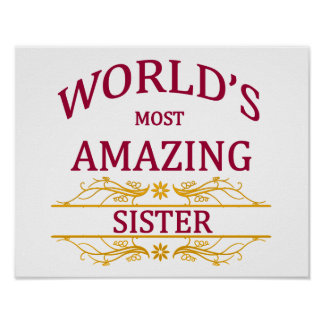 Amazing Sister Poster