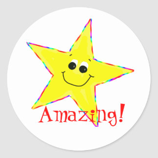 Amazing Star School Stickers