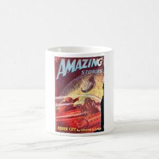 Amazing Stories_ July 1947_Pulp Art Coffee Mug