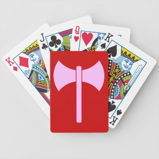 AMAZON BATTLE AX BICYCLE PLAYING CARDS