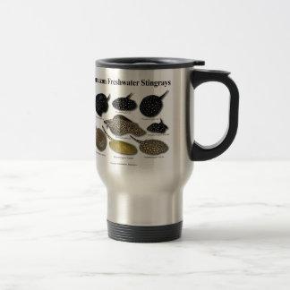Amazon Freshwater Stingrays Stainless Steel Travel Mug