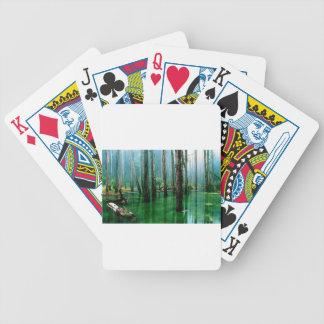 Amazon Marsh Bicycle Playing Cards