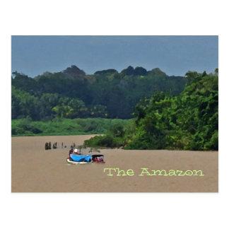 Amazon River Scene  Postcard