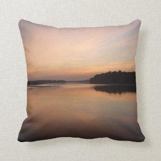 Amazon Sunrise Throw Pillow