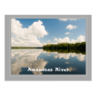 Amazon to river postcard