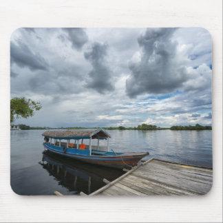 Amazon Tourist Boat Mouse Pad