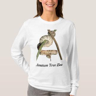 Amazon Tree Boa Ladies Long Sleeve T-Shirt