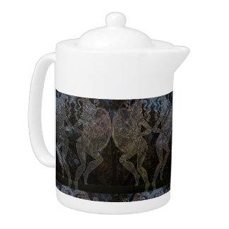 Amazon Warriors Teapot