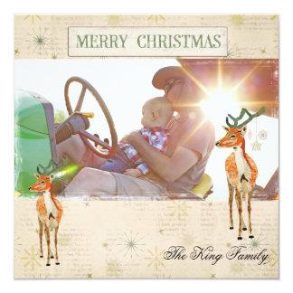 Amber Buck Christmas Photo Card Personalized Invitation