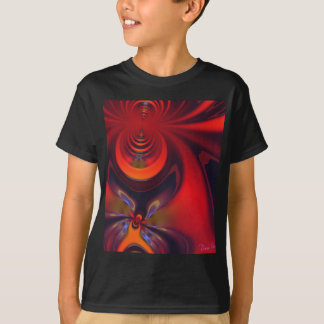 Amber Goddess – Orange and Gold Passion T-Shirt