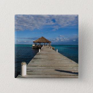 Ambergris Caye Belize 15 Cm Square Badge