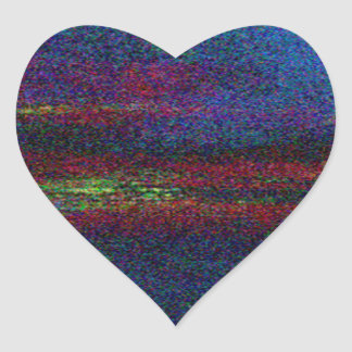 Ambience (3) heart sticker