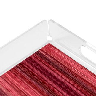 Ambient 33 Pink, Original designer modern art Acrylic Tray