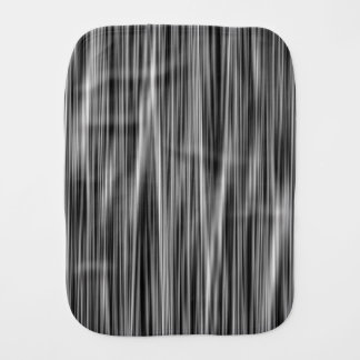Ambient 6, Original black and white designer art Burp Cloth