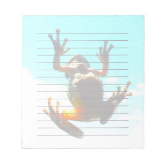 Ambitious Frog Notepad