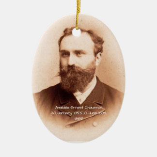 Amedee-Ernest Chausson Christmas Ornament