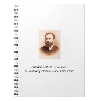 Amedee-Ernest Chausson Notebooks