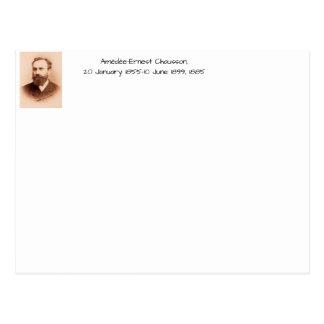 Amedee-Ernest Chausson Postcard