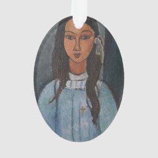 Amedeo Modigliani - Alice Ornament