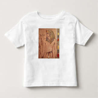 Amenhotep II  with an ankh raised to his lips Toddler T-Shirt