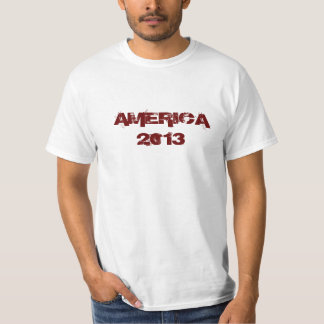 America 2013 T-shirt
