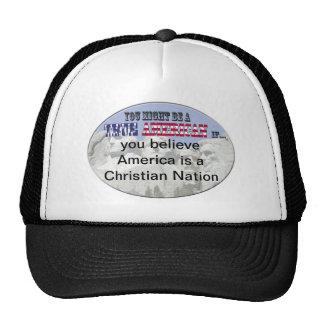 america christian nation mesh hat